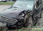 В Харькове в результате тройного столкновения автомобилей пострадала пассажирка внедорожника