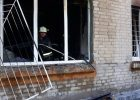 В Харькове на пожаре спасли инвалида