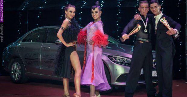 Харьковчане завоевали пять медалей на танцевальном турнире