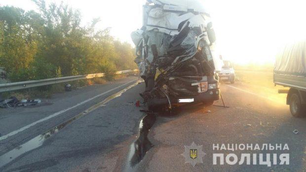 На Харьковщине в результате ДТП погиб водитель автобуса