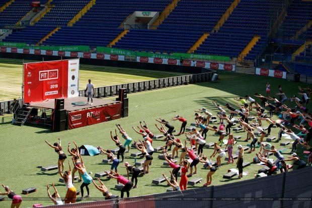 На стадионе «Металлист» прошли соревнования по берпи