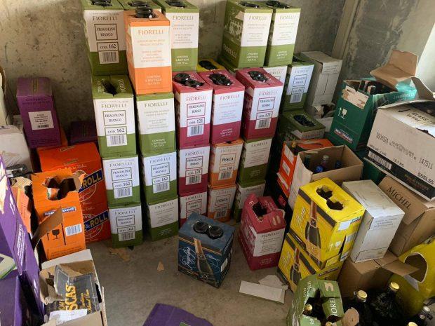 На Харьковщине изъяли нелегального алкоголя иностранного производства на 410 тысяч гривен