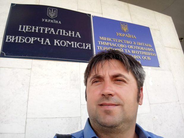 Кандидат Сергей Скрыпников