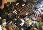 В Харькове обнаружили незаконный арсенал оружия