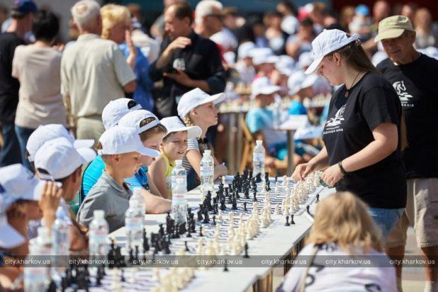 В Харькове установили шахматный рекорд