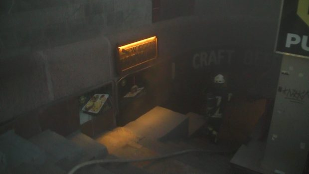 Пожарные ликвидировали пожар в одном из помещений ХНАТОБа