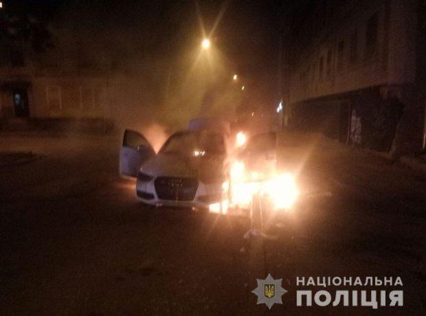 В Харькове в течение суток горели четыре автомобиля