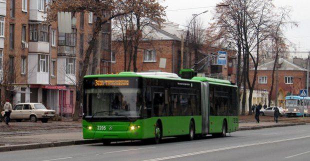 Троллейбус №3 временно изменил маршрут, №36 – не ходит