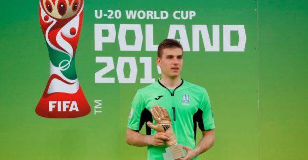 Харьковчанин признан лучшим вратарем юношеского чемпионата мира по футболу