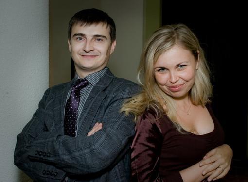 Дмитрий Гордевский и Яна Боцман