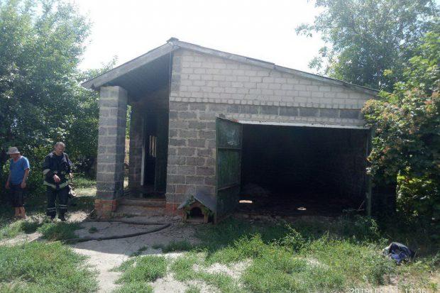 Под Харьковом в результате неосторожного обращения с огнем при курении погиб мужчина