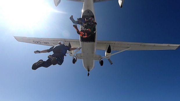 На аэродроме «Коротич» установлен национальный парашютный рекорд
