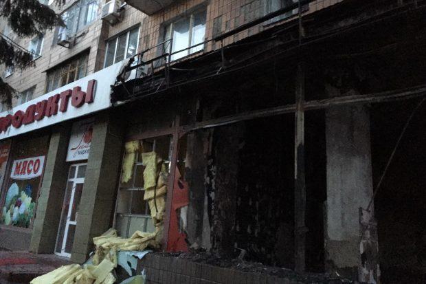 Магазин ритуальных услуг в Харькове подожгли - полиция