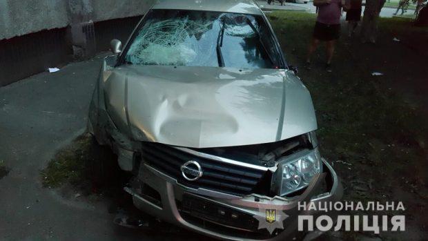 Девушка, которая снесла агитационную палатку на Салтовке, была трезвой за рулем