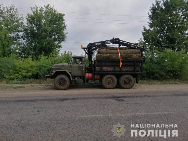 За три дня на Харьковщине трижды незаконно рубили лес