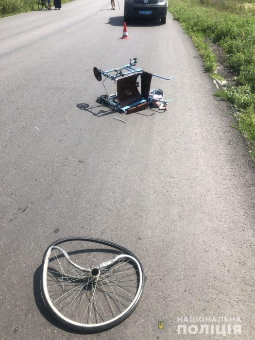 Полицейские нашли водителя, который сбил насмерть мужчину с инвалидностью под Харьковом