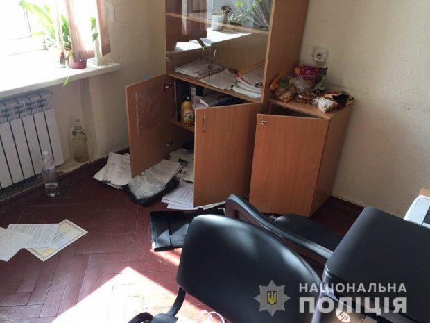 В Харькове ограбили Апелляционный суд