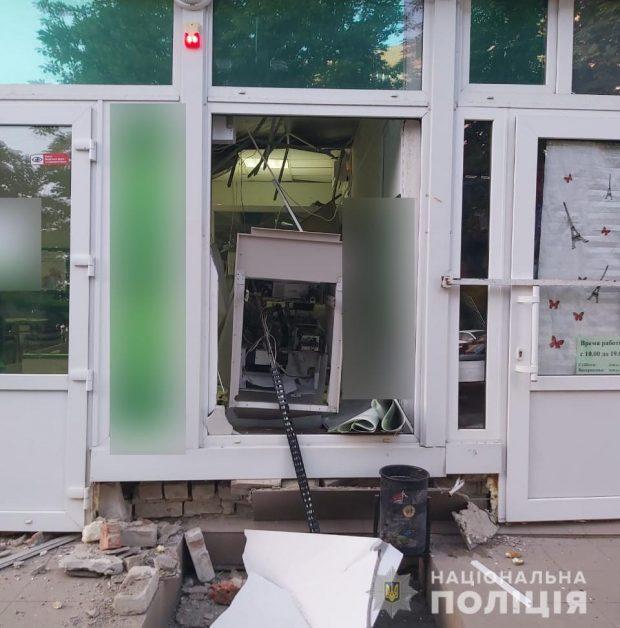 В Харькове и пригороде взорвали банкоматы