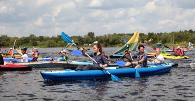 Харьковчан приглашают на фестиваль водного спорта и туризма