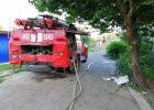 Из-за пожара под Харьковом из дома эвакуировали 15 человек