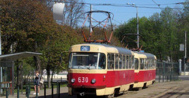 Трамвай №26 временно изменит маршрут движения