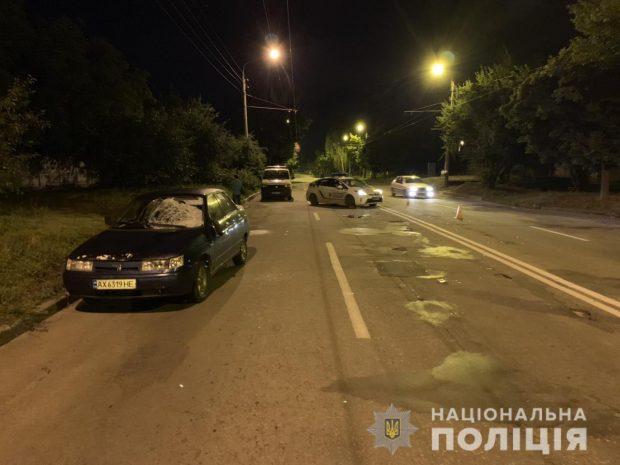 В Харькове водитель легковушки насмерть сбил пешехода