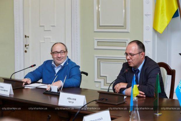Кернес подписал меморандум с ЮНИСЕФ