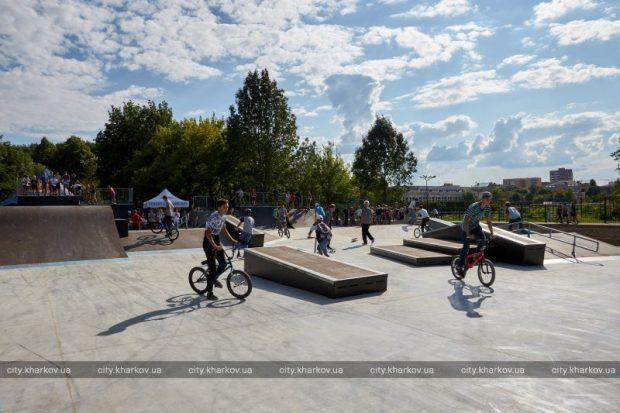 Кернес открыл Урбан-парк