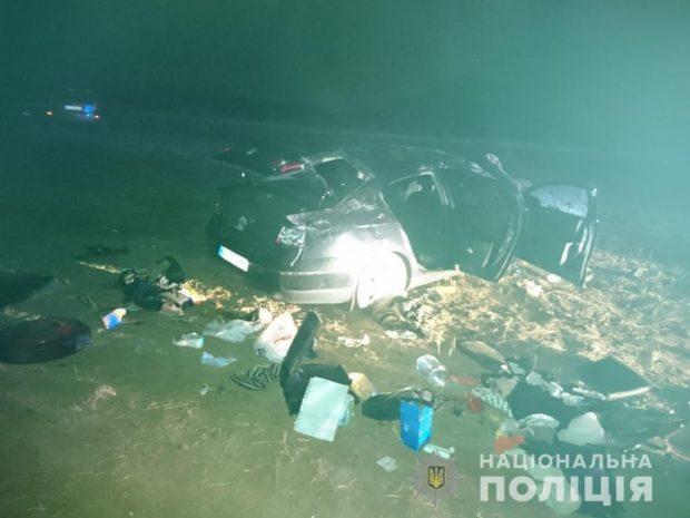В результате аварии в Харьковском районе травмы получили четыре человека
