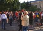 В центре Харькова разогнали акцию сторонников Шария