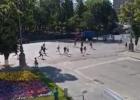 В Харькове после дебатов подрались сторонники кандидатов в депутаты