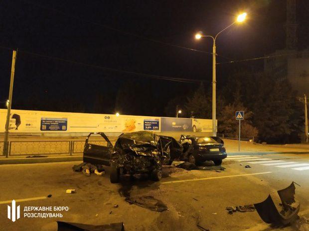Ночное ДТП в Харькове: за рулем одного из автомобилей был полицейский