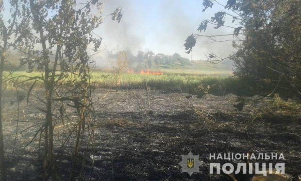 Спасатели обнаружили тело мужчины на пожаре под Харьковом