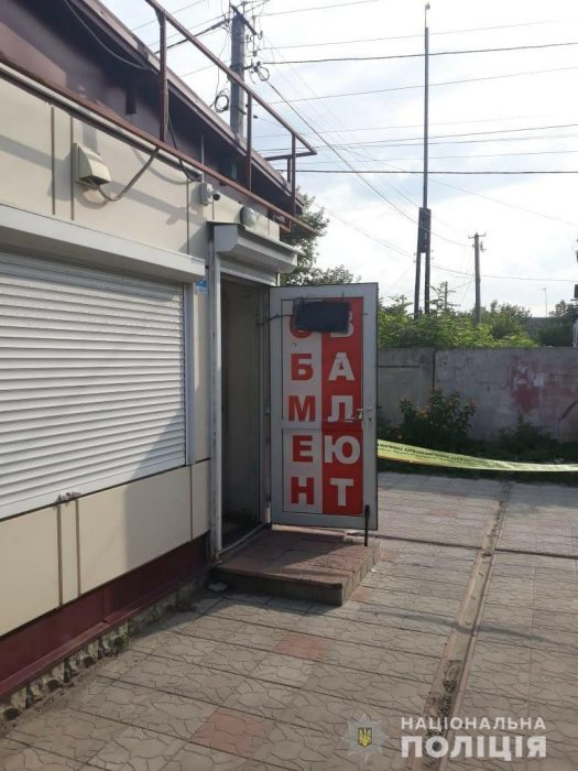 Под Харьковом неизвестные совершили разбойное нападение на пункт обмена валют