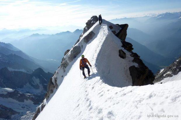 Харьковские альпинисты покорили Монблан