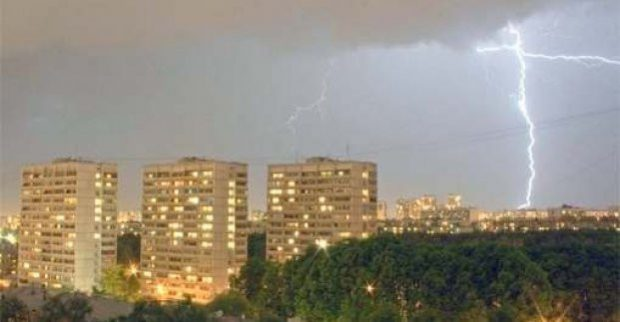 Завтра в Харькове - дождь с грозой и сильный ветер
