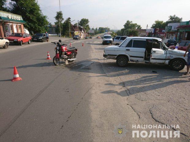 На Харьковщине в результате ДТП погиб мотоциклист