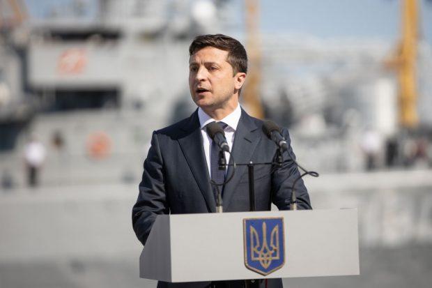 Зеленский отреагировал на идею проведения телемоста между украинскими и российскими телеканалами