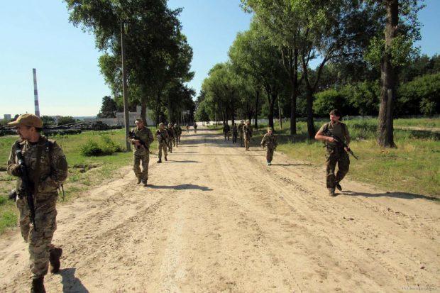 На Харьковщине бойцы подразделений теробороны успешно отразили нападение условного противника