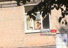 В Харькове пенсионерка выставила автомат из окна