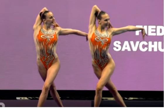 Харьковские синхронистки стали третьими на Чемпионате мира