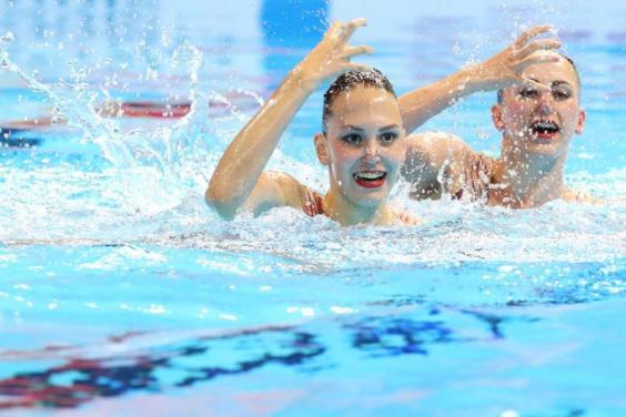 Харьковские синхронистки четвертый раз взошли на пьедестал чемпионата мира