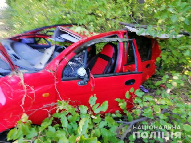 В результате аварии на Окружной дороге пострадала женщина-водитель