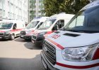 Харьковский областной центр экстренной медицинской помощи получил 10 новых «скорых»