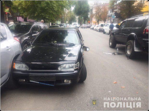 В Харькове в результате ДТП пострадала несовершеннолетняя девушка