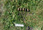 На берегу пруда под Харьковом нашли патроны и пять гранат
