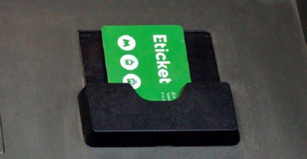 В харьковском метро завершено тестирование системы «E-ticket»
