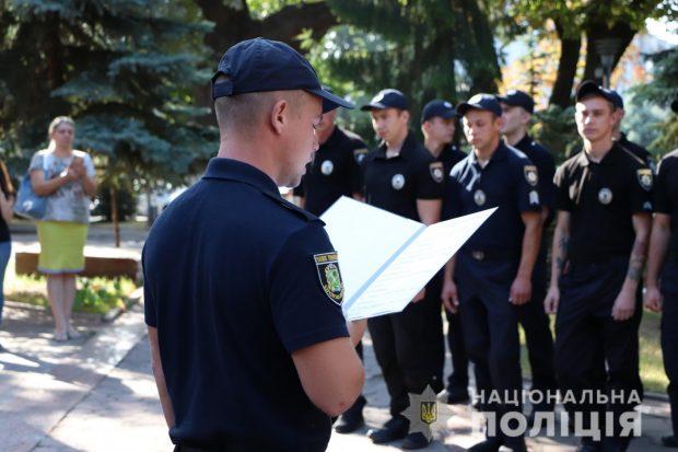 В Харькове 42 новых полицейских