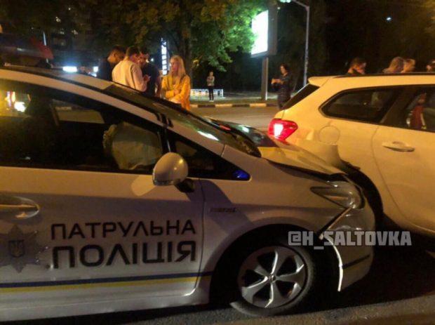В ДТП в Харькове пострадали патрульные