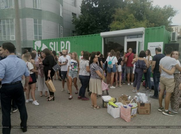 В Харькове открыли первую станцию по приему вторсырья